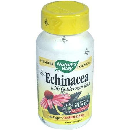 Image 0 of Echinacea Vcap 100 Cap 1 By Natures Way