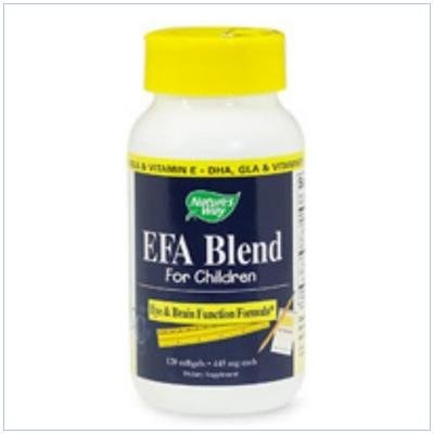 Image 0 of Efa Blend For Children 120 Ct 1 By Natures Way