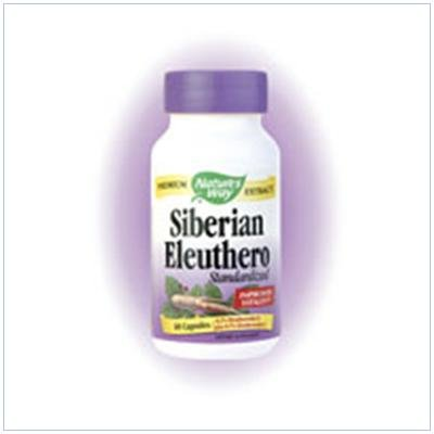 Image 0 of Eleuthero Siberian 60 Cap 1 By Natures Way