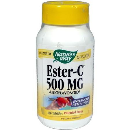 Image 0 of Ester-C 500 mg W/Bioflavs 90 Cap 1 By Natures Way
