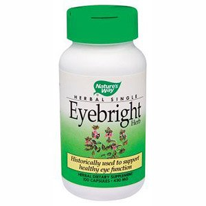 Image 0 of Eyebright 100 Cap 1 By Natures Way