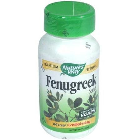 Image 0 of Fenugreek Sd Vcap 100 Cap 1 By Natures Way