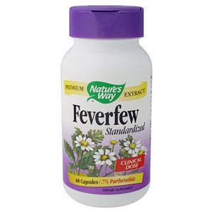 Image 0 of Feverfew Extract 60 Cap 1 By Natures Way