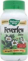 Image 0 of Feverfew Organic 100 Cap 1 By Natures Way