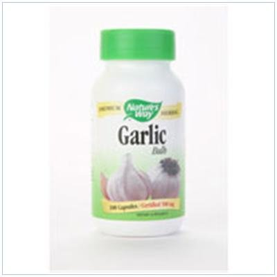 Image 0 of Garlic Cloves 100 Cap 1 By Natures Way