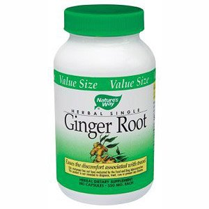 Image 0 of Ginger Root Value Size  180 Cap  1 By Natures Way