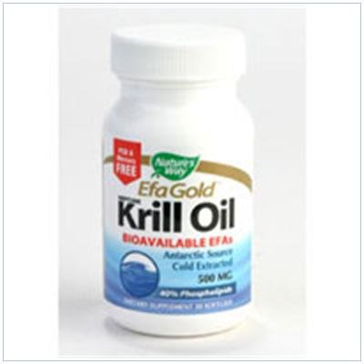 Image 0 of Krill Oil 500 mg 30 Sgel 1 By Natures Way
