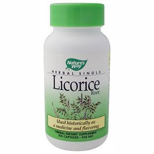 Image 0 of Licorice Root 100 Cap 1 By Natures Way