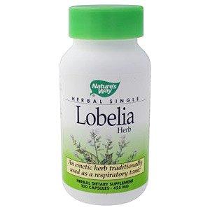 Image 0 of Lobelia Herb  100 Cap  1 By Natures Way