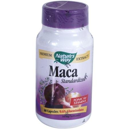 Image 0 of Maca Ext Standardized 60 Cap 1 By Natures Way