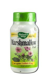 Image 0 of Marshmallow Root Organic 100 Cap 1 By Natures Way