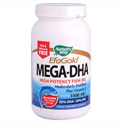 Image 0 of Mega Dha 60 Sgel 1 By Natures Way