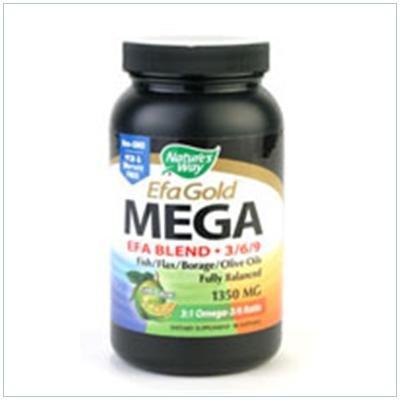 Image 0 of Mega Efa Blend 1350 mg 90 Sgel 1 By Natures Way