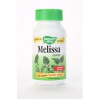 Image 0 of Melissa Lemon Balm 100 Cap 1 By Natures Way