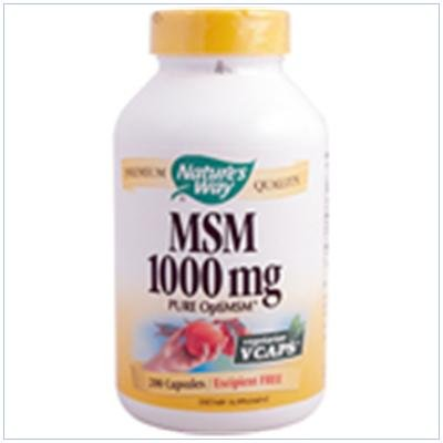 Image 0 of Msm 1000 mg 200 Vcap 1 By Natures Way