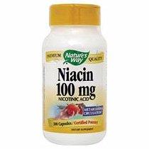 Image 0 of Niacin 100 mg 100 Cap 1 By Natures Way