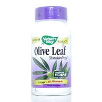 Image 0 of Olive Leaf 20% 60 Vcap 1 By Natures Way