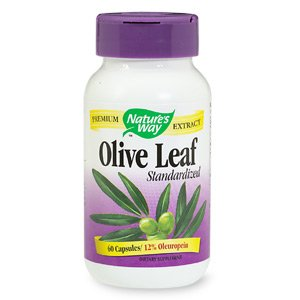 Image 0 of Olive Leaf Vcap Std 60 Cap 1 By Natures Way