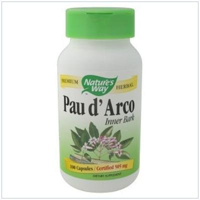 Image 0 of Pau D'Arco 100 Cap 1 By Natures Way