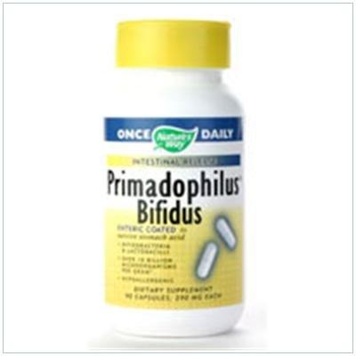 Image 0 of Primadophilus Bifidus 90 Cap 1 By Natures Way