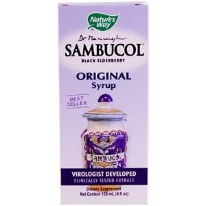 Image 0 of Sambucol Original Syrup 4 oz 1 By Natures Way