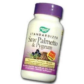 Image 0 of Saw Palmetto & Pygeum Std 30 Ct 1 By Natures Way