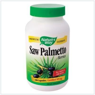 Image 0 of Saw Palmetto Berries 180 Cap 1 By Natures Way