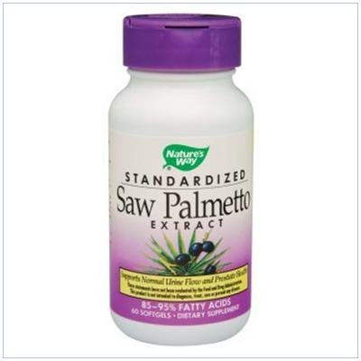 Image 0 of Saw Palmetto Extract 60 Cap 1 By Natures Way