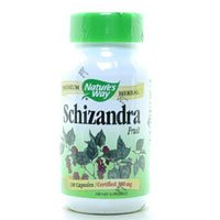 Image 0 of Schizandra Fruit 100 Cap 1 By Natures Way