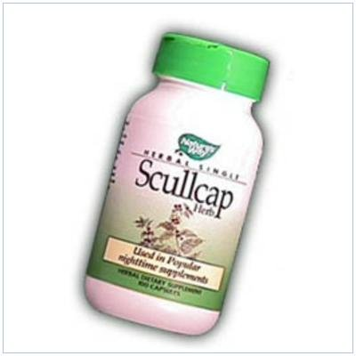 Image 0 of Scullcap 100 Cap 1 By Natures Way