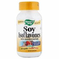Image 0 of Soy Isoflavone 100 Cap 1 By Natures Way
