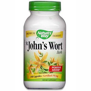 Image 0 of St. Johns Wort 180 Cap 1 By Natures Way