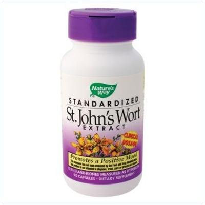 Image 0 of St. Johns Wort Stndrdzd 90 Cap 1 By Natures Way
