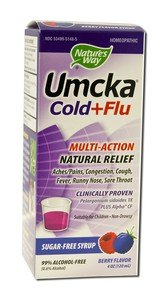 Image 0 of Umcka Cold&Flu Berry Syrp 4 oz By Natures Way