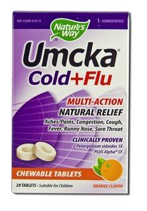 Image 0 of Umcka Cold&Flu Orng Chew 20 Ct 1 By Natures Way