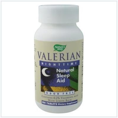 Image 0 of Valerian Nightime 100 Tab 1 By Natures Way