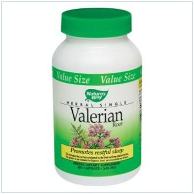 Image 0 of Valerian Root 100 Cap 1 By Natures Way