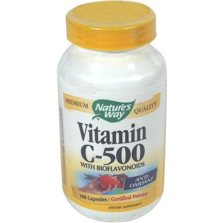 Image 0 of Vit C 500 W/Bioflavs 100 Cap 1 By Natures Way