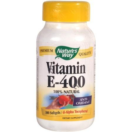 Image 0 of Vit E 400 Units D-Alpha S-Gel 100 Cap 1 By Natures Way