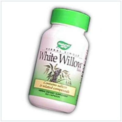 Image 0 of White Willow Bark 100 Cap 1 By Natures Way
