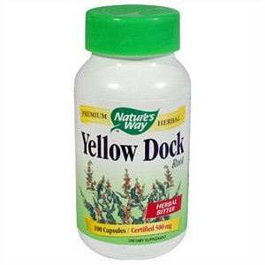 Image 0 of Yellow Dock Root 100 Cap 1 By Natures Way
