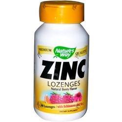 Image 0 of Zinc Lozenges W/Ech&Vit C 60 Loz 1 By Natures Way