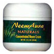 Neem Cream W/Aloe&Neem Oil 2 oz 1 By Neemaura Naturals