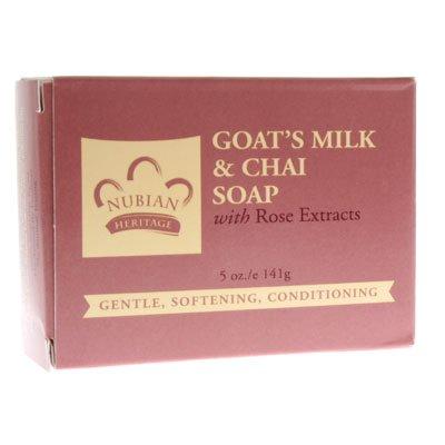 Bar Soap Goats Milk &Chai 12x5 oz 1 By Nubian Heritage