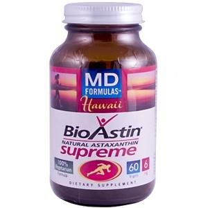 Bioastin/Asthaxanthn 60 Gcap 1 By Nutrex Hawaii