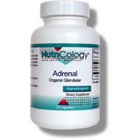 Adrenal 300Mg 75 Cap 1 By Nutricology