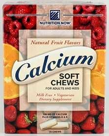 Calcium Sft Chew Fruit 75 Ct 1 By Nutrition Now