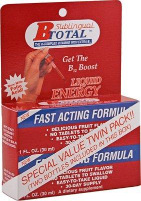 Subling B-Total Bonus Pak 2 oz 1 By Sublingual Products