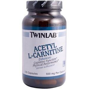 Image 0 of Acetyl L-Carnitine 500Mg 120 Cap 1 By Twinlab