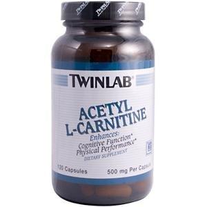 Acetyl L-Carnitine 500Mg 120 Cap 1 By Twinlab